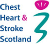 Chest Heart and Stroke Scotland logo