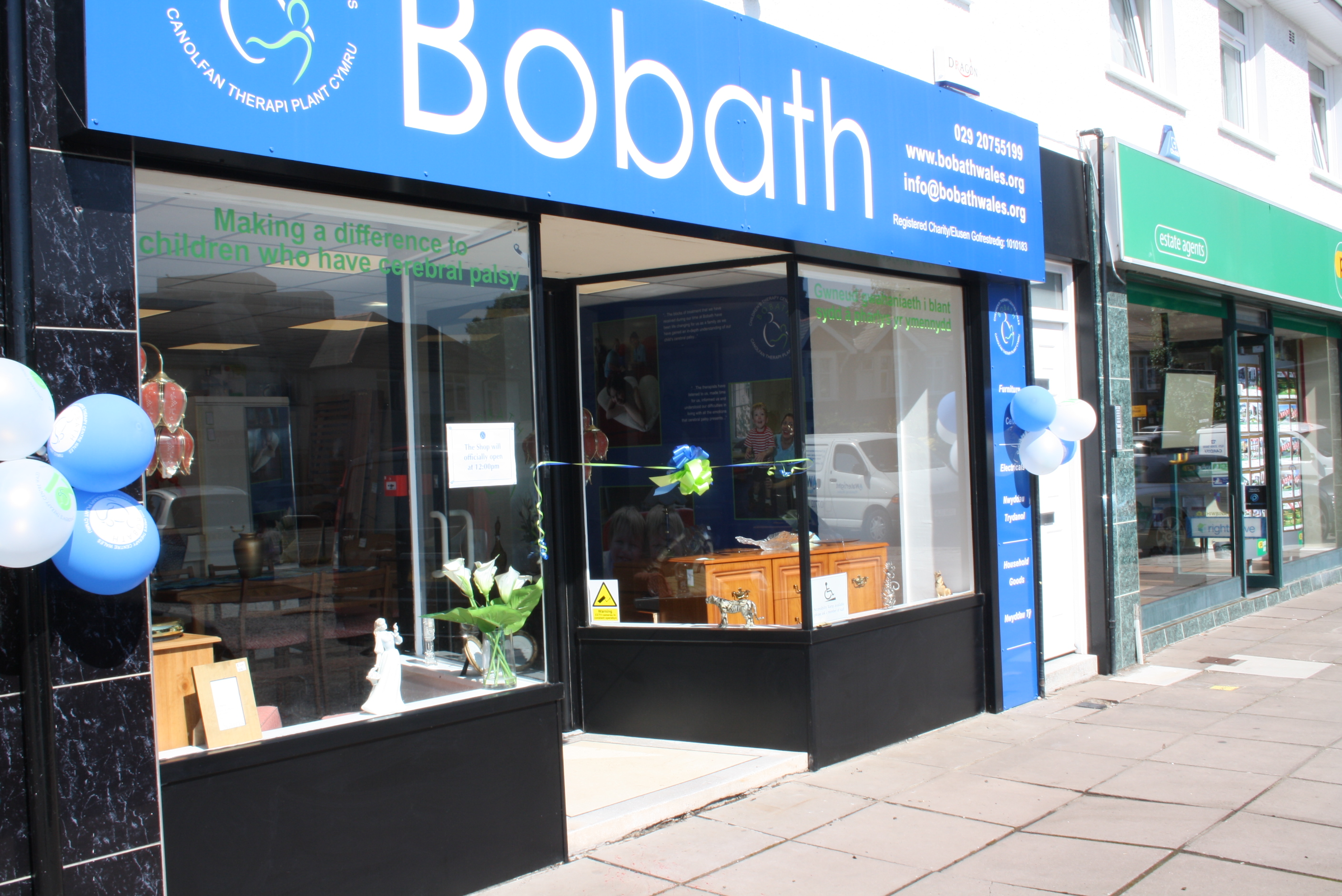 Bobath children 39 s therapy centre wales charity retail for Furniture charity shops