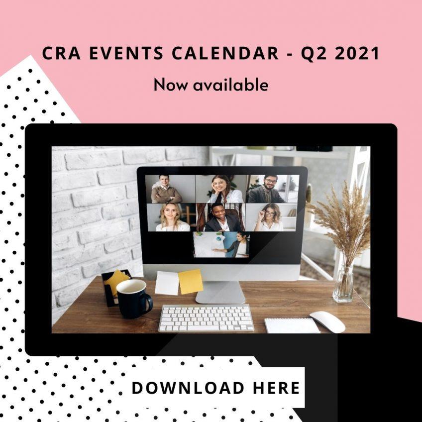 CRA EVENTS CALENDAR