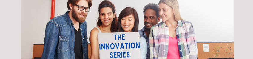 The innovation series page header