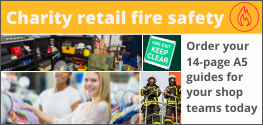 Charity Retail Fire Safety guides